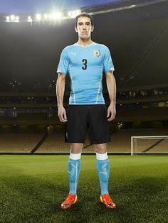 Uruguay 2014 World Cup Home and Away Kits Released - Footy Headlines