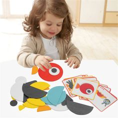 Cheap Drawing Toys, Buy Directly from China Suppliers:MINOCOOL Children's Wood DIY Creative Puzzle Innovative Combined Puzzle Toys For Baby early childhood teaching