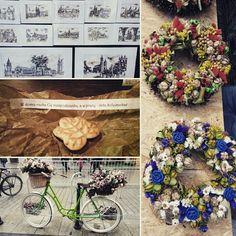 #cracow #kraków #flowers #drawing #poland