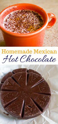 Homemade Mexican Hot Chocolate | homemadeforelle.com