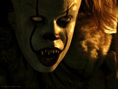 107 - It Evil clown Pennywise. Evil Clowns, Scary Clowns, Creepy, Scary Movies, Horror Movies, Its 2017, Le Clown, Pennywise The Dancing Clown, Horror Monsters