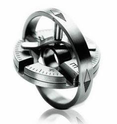 Meister - Titanium Compass Pendant