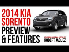 Kia Sales Specialist Robert Jaquez walks you through the exciting new features of the 2014 Kia Sorento in this YouTube video!
