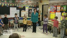 Students learn about the elements of dance.