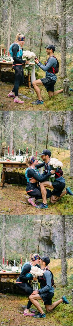 This hiking proposal is the most romantic thing we've seen!