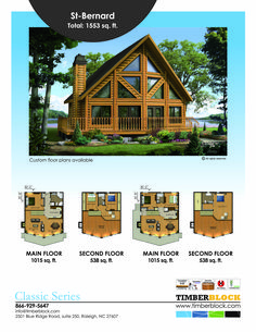 Simple tree house plans square feet Ideas for 2019 A Frame House Plans, Tree House Plans, Cabin House Plans, Log Home Plans, Mountain House Plans, Cabin Floor Plans, Log Cabin Homes, Small House Plans, Cabin Kits