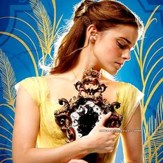 Emma Watson's new picture in 'Beauty and the Beast'