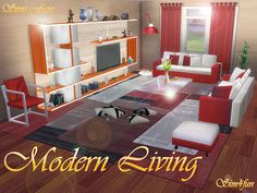 Sims 4 CC's - The Best: Living Room by SimsFans