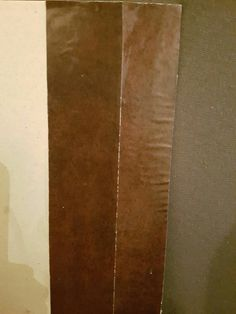 Test behang plakken met houtlijm of fotolijm