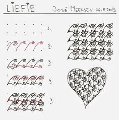 Liefie (Sweetie)~Zentangle