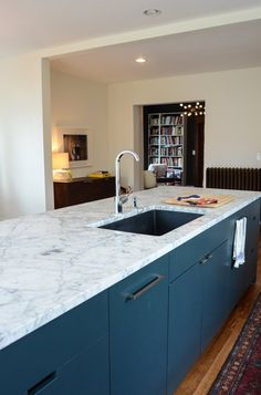 My Experience of Living With Marble Countertops: One Year Later — Renovation Diary: One Year Later