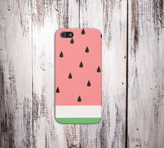 Watermelon Slice Case for iPhone 6 6+ iPhone 5 5S 5C iPhone 4 4S and Samsung Galaxy S5 S4 & S3