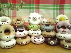 animal doughnut:動物ドーナツ 全員集合 2012,3月バージョン♪♪|イクミママのどうぶつドーナツのブログ