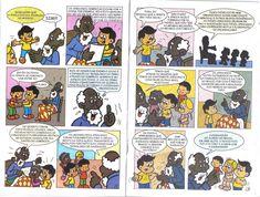 História em quadrinhos sobre a Consciência Negra: Zumbi dos Palmares gibi!