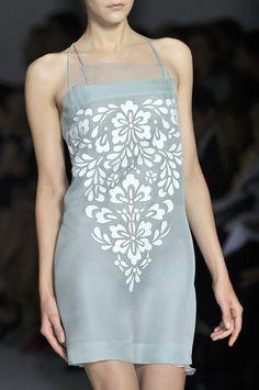 Alberta Ferretti at Milan Fashion Week Spring 2010 - Details Runway Photos