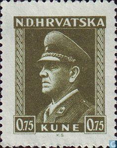 Croatia - Ante Pavelic 1943