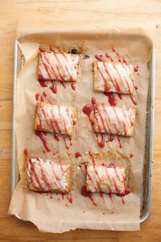 "Sour Cherry ""Toaster"" Tarts 
