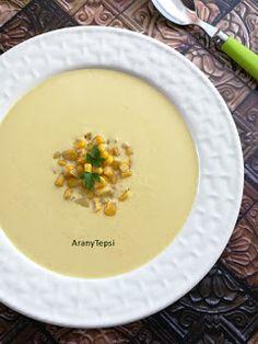 AranyTepsi: Egyszerű kukoricakrémleves