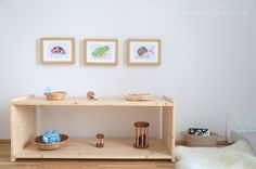 Montessori Babyzimmer, 0-3 Monate alt, Manine Montessori, Montessori von Anfang an