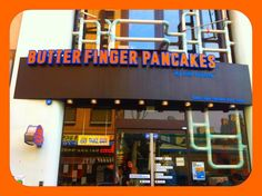 Butterfinger restaurant in Seoul