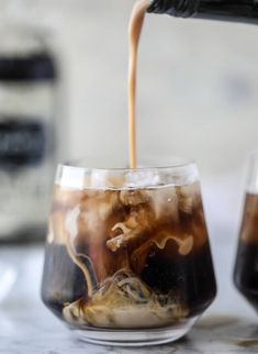 Root Beer Rum Cremes - Drinks, mocktails and beverages - Dessert Drinks, Party Drinks, Cocktail Drinks, Fun Drinks, Desserts, Dark Rum Cocktails, Aperitif Drinks, Beer Cocktail Recipes, Dessert Cups