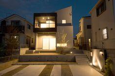 大和川を見下ろす山の上に建つ家・間取り(奈良県北葛城郡) | 注文住宅なら建築設計事務所 フリーダムアーキテクツデザイン