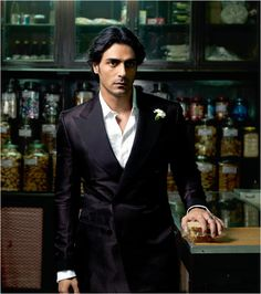 Arjun Rampal (b. 26 Nov 1972) is an Indian film actor, producer, and former Indian supermodel. He is married to former Miss India and supermodel Mehr Jessia