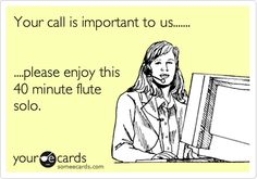 And you've also grown to like the music they play when you're on hold. | Community Post: 23 Signs You Work In Sales