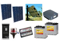 Off Grid 160W Cabin Home Solar System