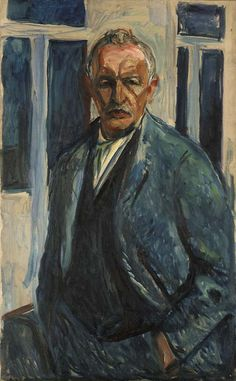 """Edvard Munch (12 Dec 1863 - 23 Jan 1944) was a Norwegian painter & printmaker whose intensely evocative treatment of psychological themes build the tenets of late 19th-Century Symbolism and influenced German Expressionism in the 20th Century. His work, """"The Scream"""" is one of the most recognized, copied, & parodied works of art in existence. His museum holds 1,100 paintings, 4,500 drawings, & 18,000 prints."""