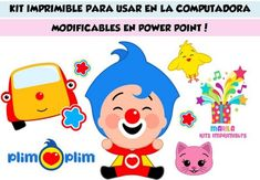 Kit Imprimible Para Tu Fiesta De Circus Birthday, Pikachu, Family Guy, Flyers, Leo, Fictional Characters, Image, Clowns, Party