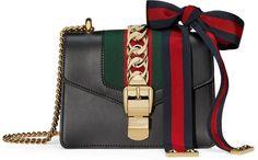 Sylvie leather mini chain bag Gucci