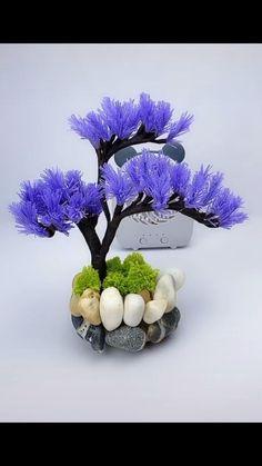 Paper Flowers Craft, Flower Crafts, Diy Flowers, Fabric Flowers, Paper Crafts, Diy Crafts For Gifts, Creative Crafts, Handmade Flowers, Diy Art
