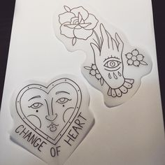 """84 Likes, 7 Comments - Jacob Lennon (@jacoblennxn) on Instagram: """"A few more trad ideas from earlier 💮 #traditionaltattoo #handtattoo #ladyhead #changeofheart…"""""""