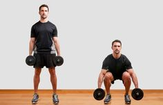 Your Must-Do Strength Training Workout for Runners: Dumbbell Squats