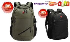 Latest stocks now available.  Huge sales   Unisex Swissgear Backpack 14-17  Laptop Bag Sport Hiking School Bag Dust-proof