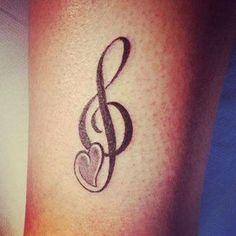 Key Tattoo - Musik in der Haut 797700152729605728 Latest Tattoos, Trendy Tattoos, Small Tattoos, Cool Tattoos, Key Tattoos, Music Tattoos, Sleeve Tattoos, Garter Tattoos, Rosary Tattoos