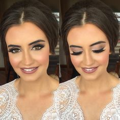 "7,410 Likes, 134 Comments - Melissa Sassine (@melissasassinemakeup) on Instagram: ""Our stunning bride Laura yesterday  @melissasassinemakeup @hairbytonysaid #melissasassine…"""