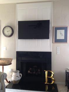 14 best tv niche ideas images fire places fireplace surrounds rh pinterest com