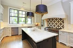 Modern kitchen - beautiful! #kitchen