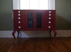 Items Similar To Vintage Industrial Metal Dental Cabinet On Etsy