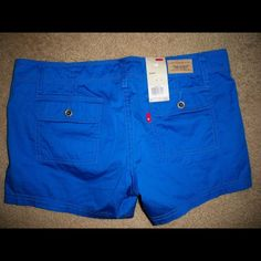 39736bf504bd04 Levis cargo short shorts royal blue new nwt