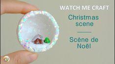 Christmas Scene / Scène de Noël Fimo clay tutorial