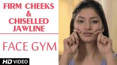 weight loss nutrition health tips health and fitness gym workout Face Gym - Tone Cheek Muscles HD Facial Muscle Exercises, Face Lift Exercises, Neck Exercises, Facial Muscles, Face Exercises Cheeks, Jowl Exercises, Massage Facial, Facial Yoga, Face Gym