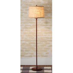 Beaded Metal Floor Lamp (Shades of Light) Floor Lamp Shades, Metal Floor, Home Lighting, Home Furnishings, Living Room Decor, Home Improvement, Chandelier, Cherry, Study