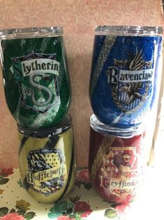 Hogwarts house glitter epoxy tumblers – Tumblers – New Epoxy Vinyl Tumblers, Custom Tumblers, Glitter Cups, Glitter Tumblers, Images Harry Potter, Decorative Soaps, Christmas Cup, Custom Cups, Circuit Projects