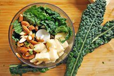 Pesto de Kale | Sabores de mi Huerto