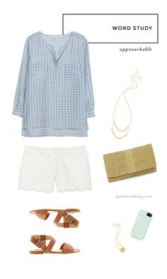 Laid back summer outfit