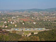 RailPictures.Net Photo: Uknown OSE Hellenic Railways GTW STADLER at Avlon,Attica Region, Greece by Apostolos Anastasiadis