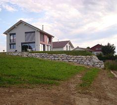 Neubauten Bern | Wir übernehmen auch Neubauten für Sie in Bern Bern, Cabin, House Styles, Home Decor, Architects, New Construction, Decoration Home, Room Decor, Cottage